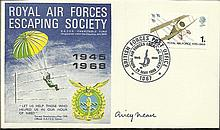 Airey Neave signed 1968 RAF Escaping Society