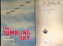 The Tumbling Sky by Hugh Halliday. First Edition