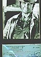 Charles Bronson Signed Cheque and Cowboy Picture