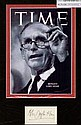Alec Douglas Home Signed Paper Piece and Glossy