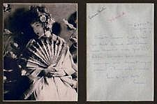 Lillian Gish handwritten signed letter To Louella