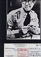 Phil Silvers Signed Cheque + Bilko Pic Display.