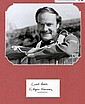 Glynn Edwards Signed Card and Zulu Picture