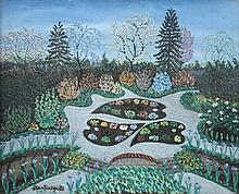 § Jean Busquets (French, 20th Century) - Exotic Garden - signed lower left