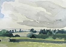 § John Plumb (British, 1927-2008)  - Ilford Bridges, Somerset - signed on the reverse