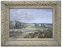 William Sydney Reed - October Morning, Gorleston        - oil on canvas