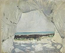 § Jean Bratby (British, 20th Century) - Cave - signed lower left