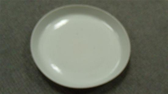 An 18th century blanc de Chine deep dish,
