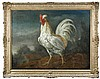 Follower of Frans Snyders (Flemish, 1579-1657) - A Pyle Tasselled Game Cock in a Landscape - oil on canvas