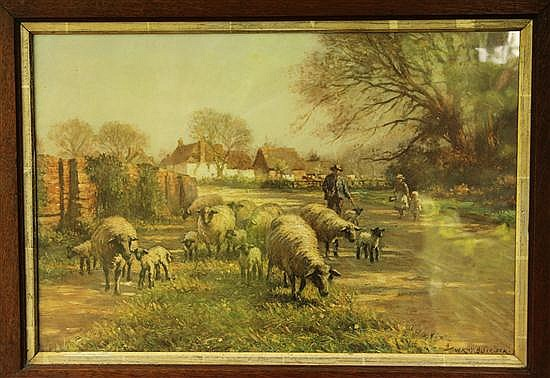 William Kay Blacklock - Hemingford Abbots - print