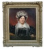 Irish School (19th Century) - Portrait of Mrs Mary Redmond -oil on canvas