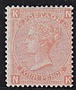 4d, Plate 14, (NK) vermillion, unmounted mint,