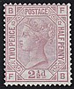 2½d, Plate 12 (FB), rosy mauve, unmounted mint,