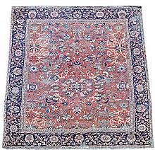 A Mahal carpet, circa 1900
