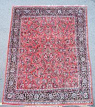 An American Sarouk carpet,