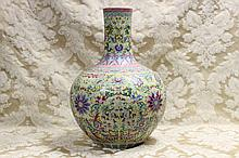 A superb massive Chinese porcelain vase having all