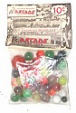 Arcade Marbles in an Unopened Bag, Marked 10 Cents