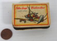 German farm implements adv. match box holder