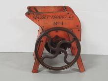 Unusual cane cutter marked Massey Harris