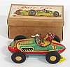 NOS Japanese friction toy Race Car - great! works!