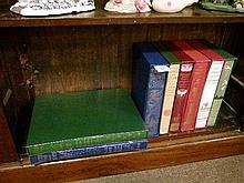 Books - Eight Folio Society volumes including Aesop's Fables, Hans Christian Andersen etc
