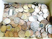 Coins - Large quantity of various mainly foreign coinage