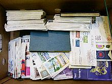 Stamps - Large quantity of various first day covers, pre-decimal presentation packs, stamps etc