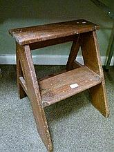 Early 20th Century pine step