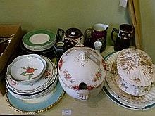 Quantity of assorted mainly English late 19th and 20th Century ceramics
