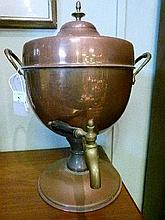 Early 20th Century copper samovar