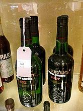 Wines and spirits - Four bottles of Cockburn's Special Reserve Port