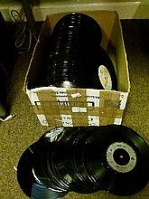 Various 45rpm records, mainly 1980's