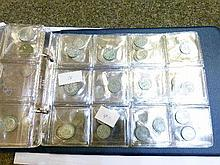 Coins - Album containing various silver and other coinage