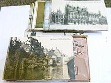 Postcards - Quantity of British and Continental mainly topographic cards etc