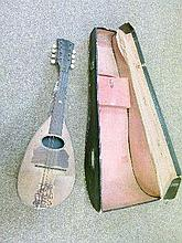Mid 20th Century mandolin, cased