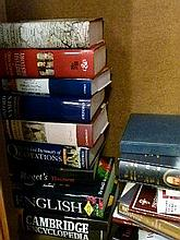 Books - Quantity of late 20th Century reference books