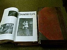 Books - Five bound volumes of Country Life 1902-1913