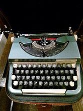 20th Century Imperial typewriter in faux leather carry case