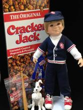 Cracker Jack Limited Edition Collector Doll in Original Box