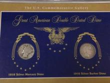 The Great American Double Dated Dime in Case