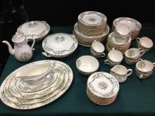 Unbelievable!!! Royal Worcester COLLINGWOOD Fine China. Service for 12!