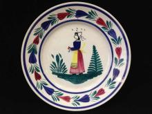 Rare Plate #176 Hand Painted. Signed