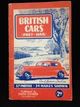 British Cars (Post War) by Floyd Clymer Paperback