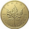 2014 1/2 oz Canadian Gold Maple Leaf (BU)