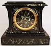 FRENCH MARTIN FT. MARBLE MANTLE CLOCK. Time and