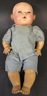 EFFANBEE DY-DE BABY. With rubber body. 11