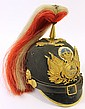 FINE GERMAN PICKELHAUBE HELMET. Officer of