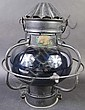ANTIQUE ENGLISH SHIP'S LAMP. 19th century. Alfred