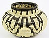 WOUNAAN (PANAMA) BASKET. Made by Indians of the