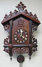 CHALET CUCKOO CLOCK.  American Cuckoo Clock Co.  (Note:  good condition and running).  21
